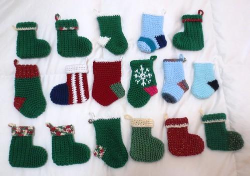 Christmas In July Mini Stockings