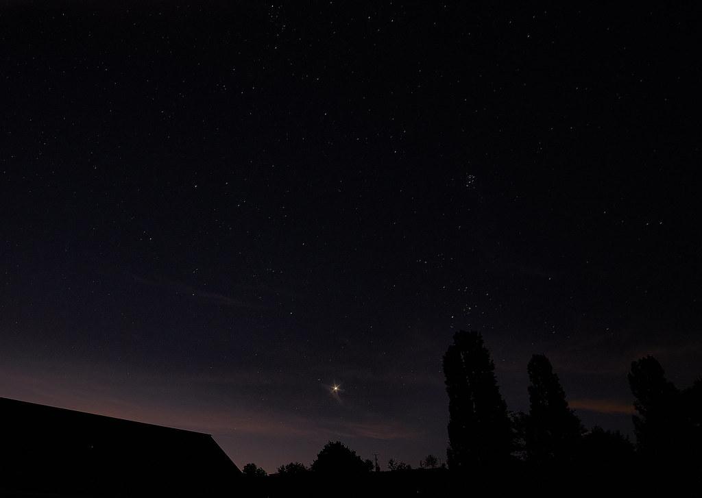 Venus Nightsky in the Dusk