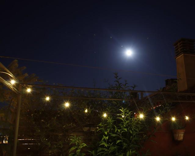 Noches calurosas de verano buscando un poco de fresco