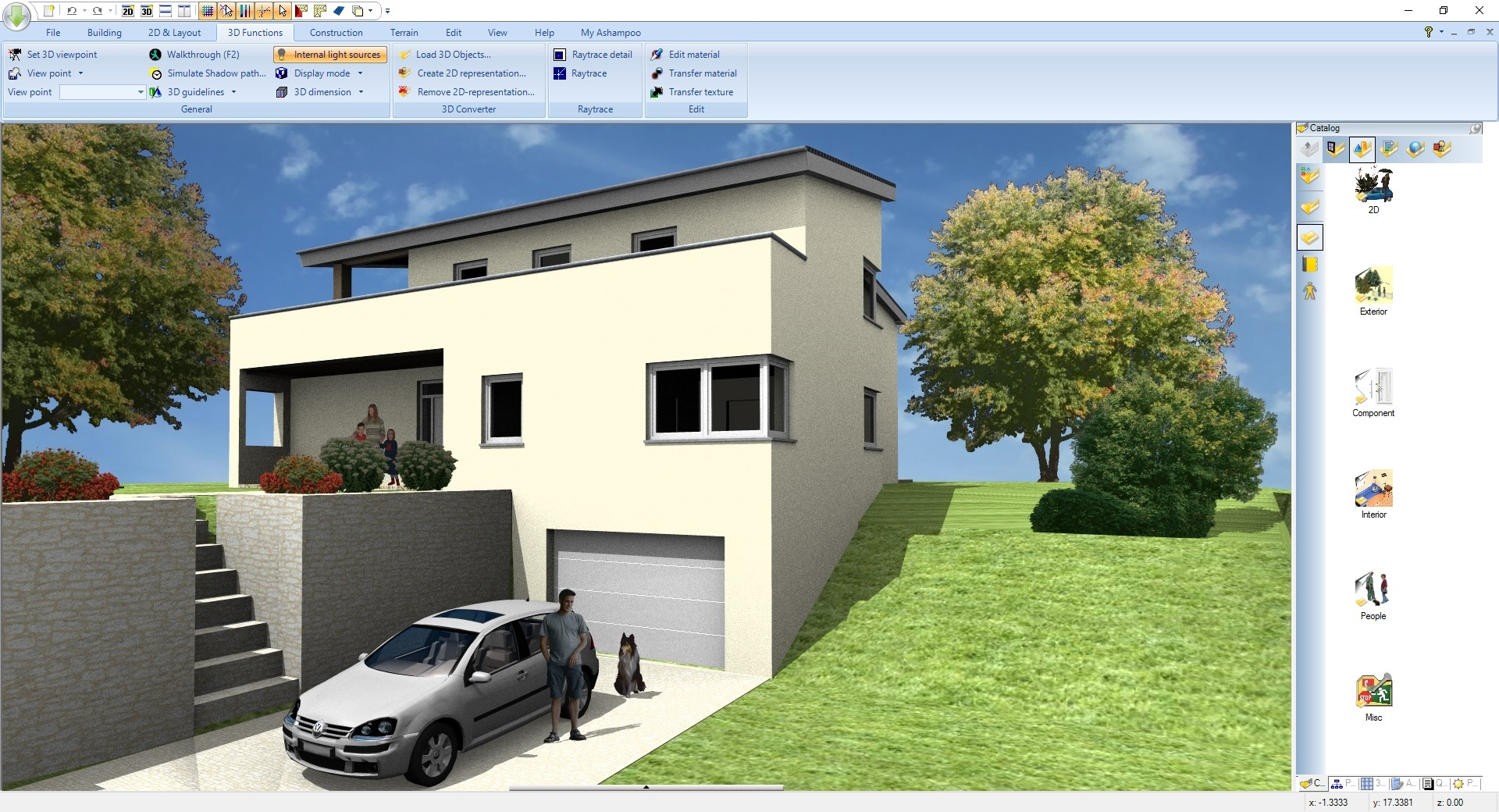 Working with Ashampoo Home Design 5.0 full license