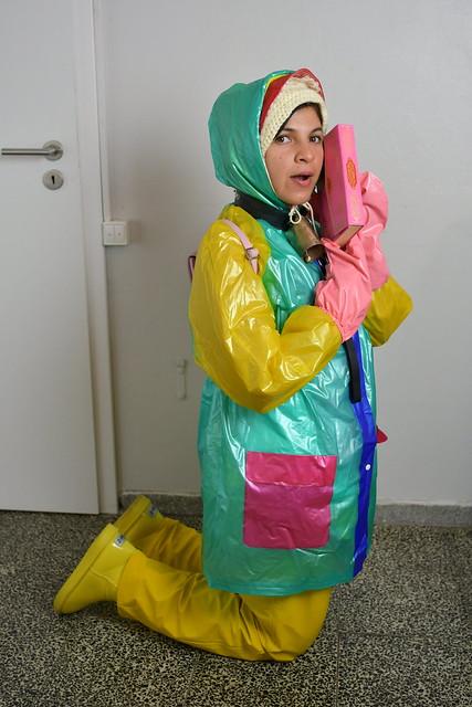 das deutsche Dhimmi Dienstmädchen Björkezulma des Kerem Clans in Berlin Neuköln