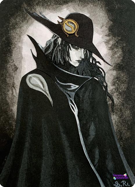 SerenaAzureth_ATC_VampireHunterDBroodingPaperCollage2