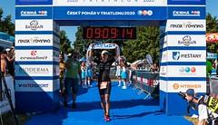 České tituly v dlouhém triatlonu získali Řenč a Křivánková