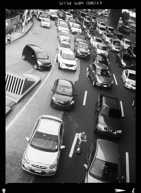 Pushing through traffic
