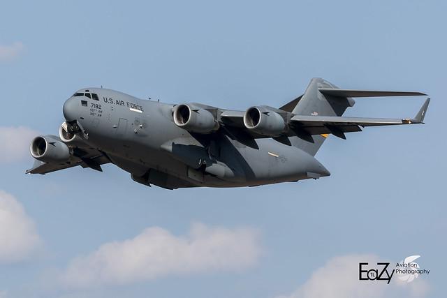 07-7182 United States Air Force Boeing C-17A Globemaster III