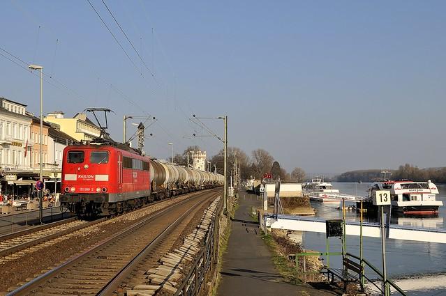 Rüdesheim, DB Schenker 151 088-2