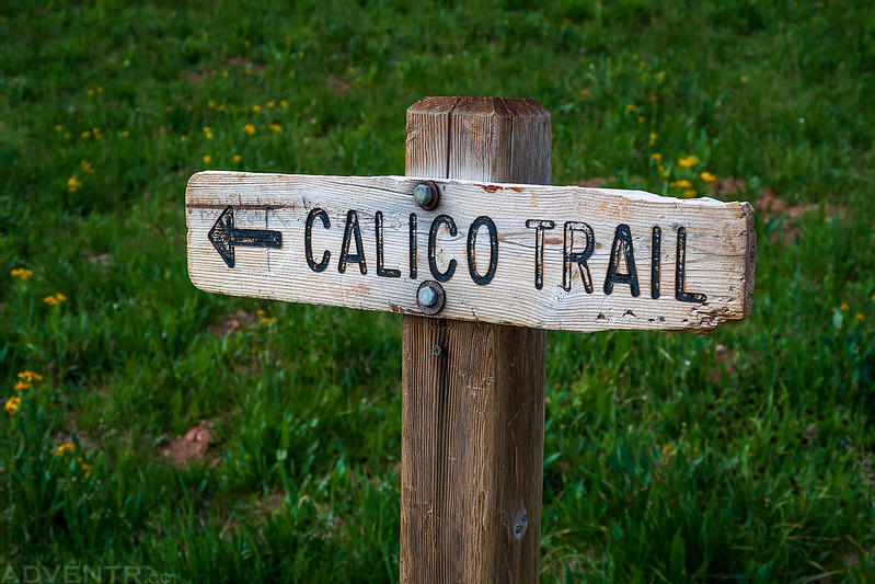 Calico Trail Sign