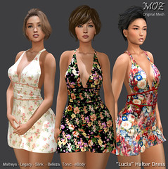 """MOZ """"Lucia"""" Halter Dress"""
