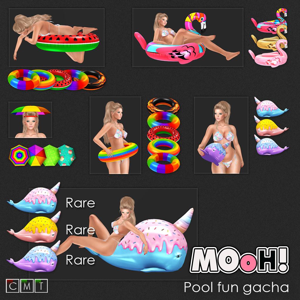 MOoH! Pool fun gacha