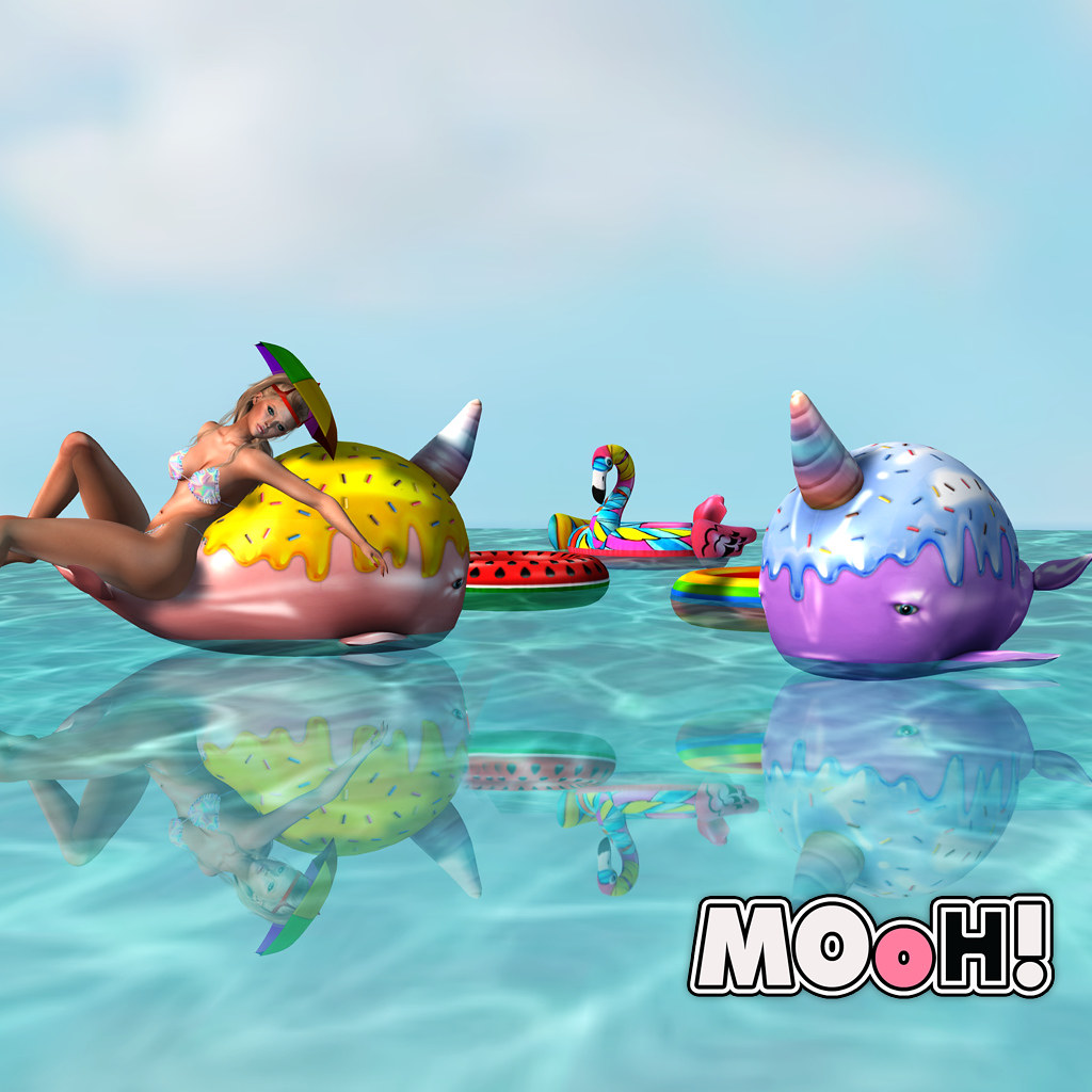 MOoH! Pool fun gacha full