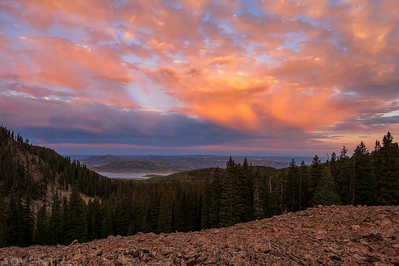 Groundhog Mountain Morning