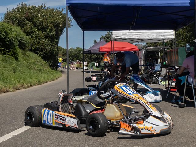 Karting at the Sorel Loop