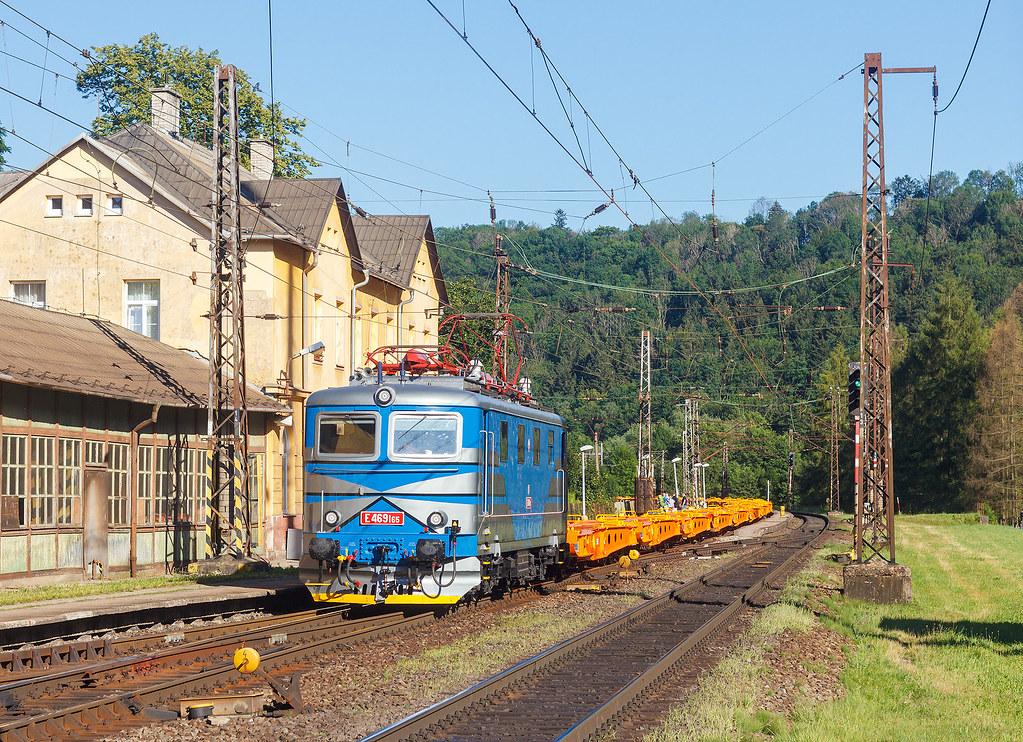 IDS Cargo E 469 v Brandýse nad Orlicí