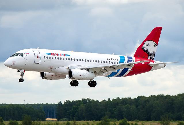 RA-89092  Yamal Airlines Sukhoi SSJ-100-95LR Superjet 100 (RRJ-95LR)