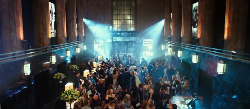 The art deco hall ball