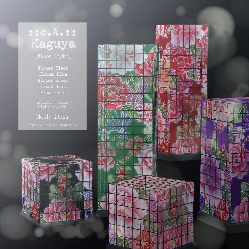 ::c.A.:: Kaguya [floor light] Flower