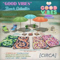 "[CIRCA] - ""Good Vibes"" Beach Collection Hunt Prizes 2020"