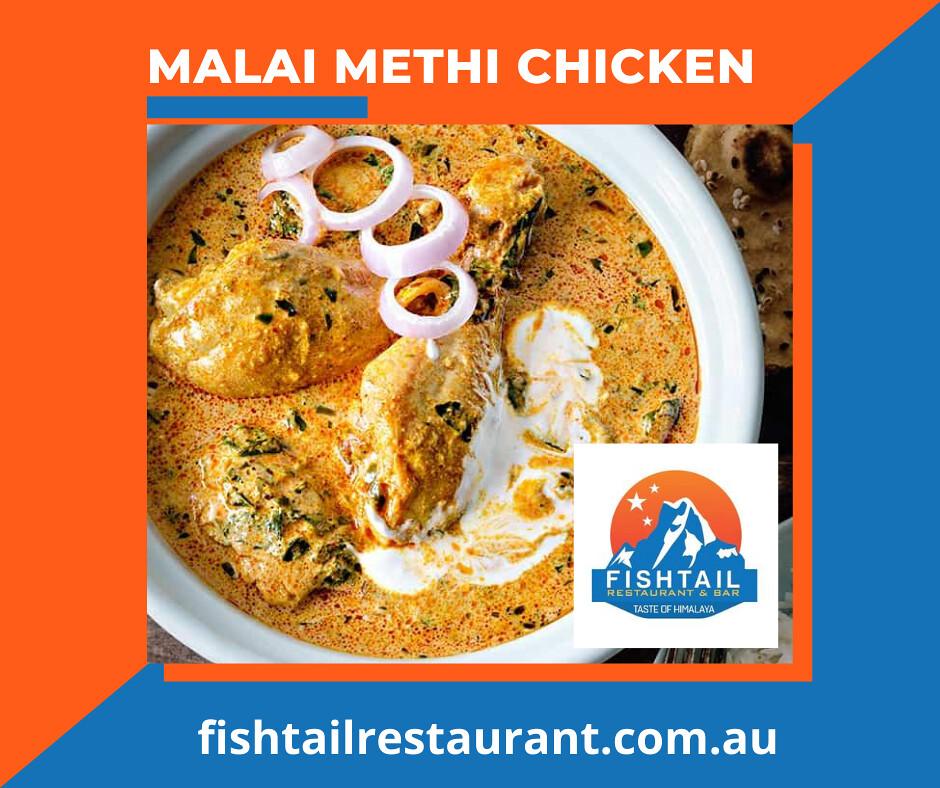 Malai Methi Chicken