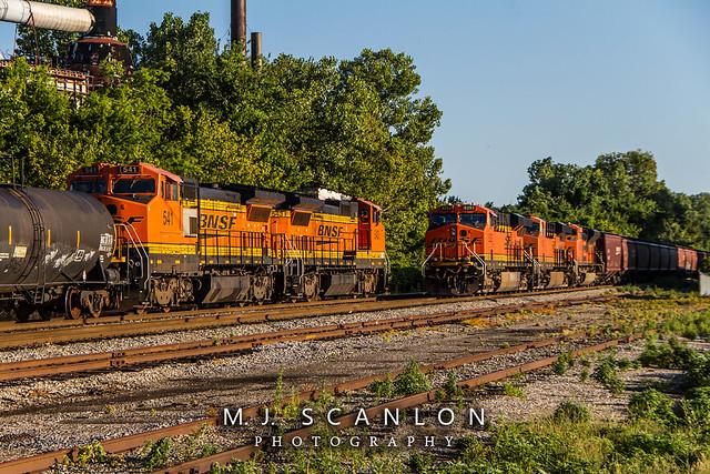 BNSF 6293 | GE ES44AC | CN Memphis Subdivision