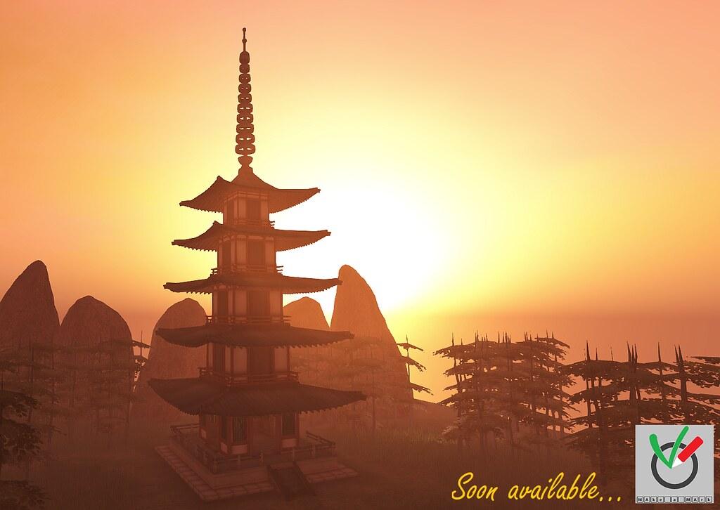 Japanese Pagoda – soon available …. #1
