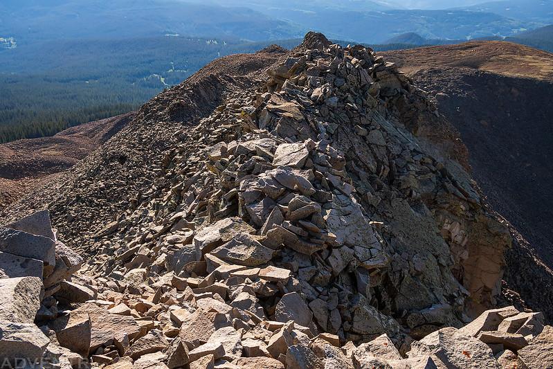 Groundhog Mountain Summit Ridge