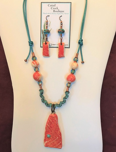 Tangerine n Teal Set