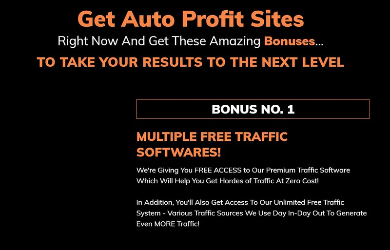 Auto Profit Sites Coupon Code