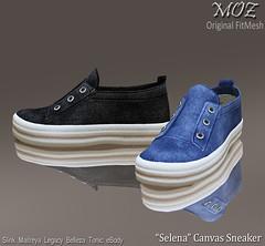 "MOZ ""Selena"" Canvas Sneaker"