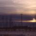 chiaroscuro sky -- winter sunset