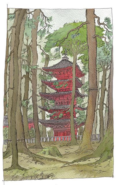 Japon, Nikko, Tosho-gu