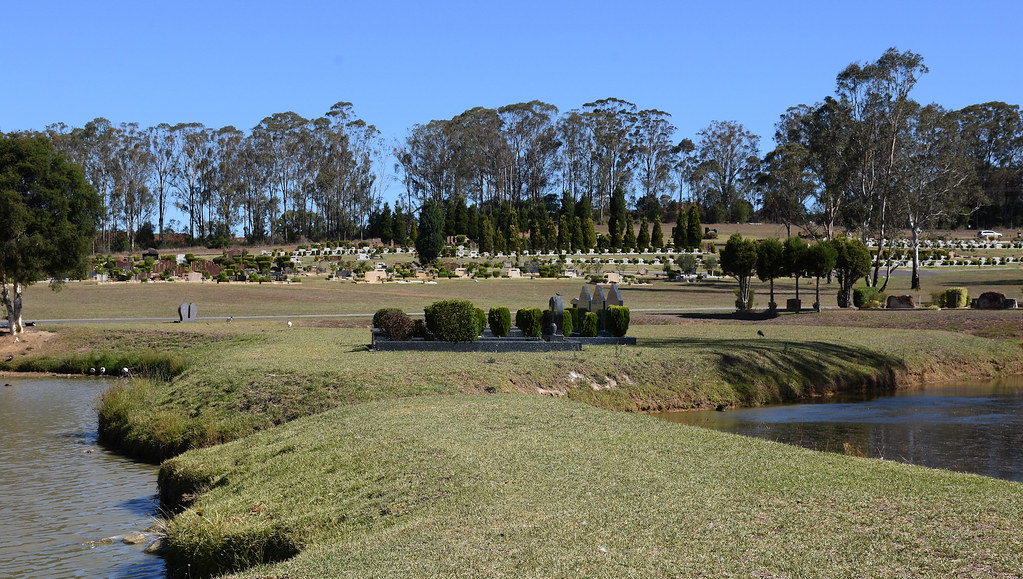 Leppington Forest Lawn Cemetery, Leppington, Sydney, NSW.