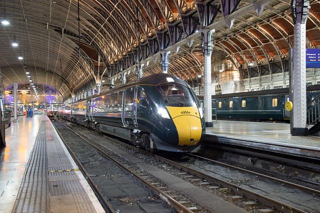 GWR 800 001 London Paddington