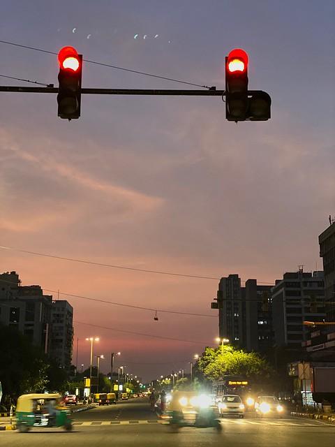 City Season - Monsoon's Sunset Hues, Around Town