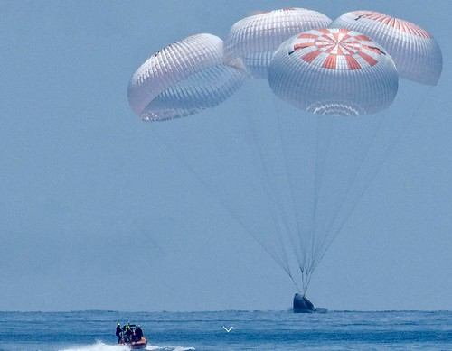 Successful Splashdown Of The First Spacex Crew Mission
