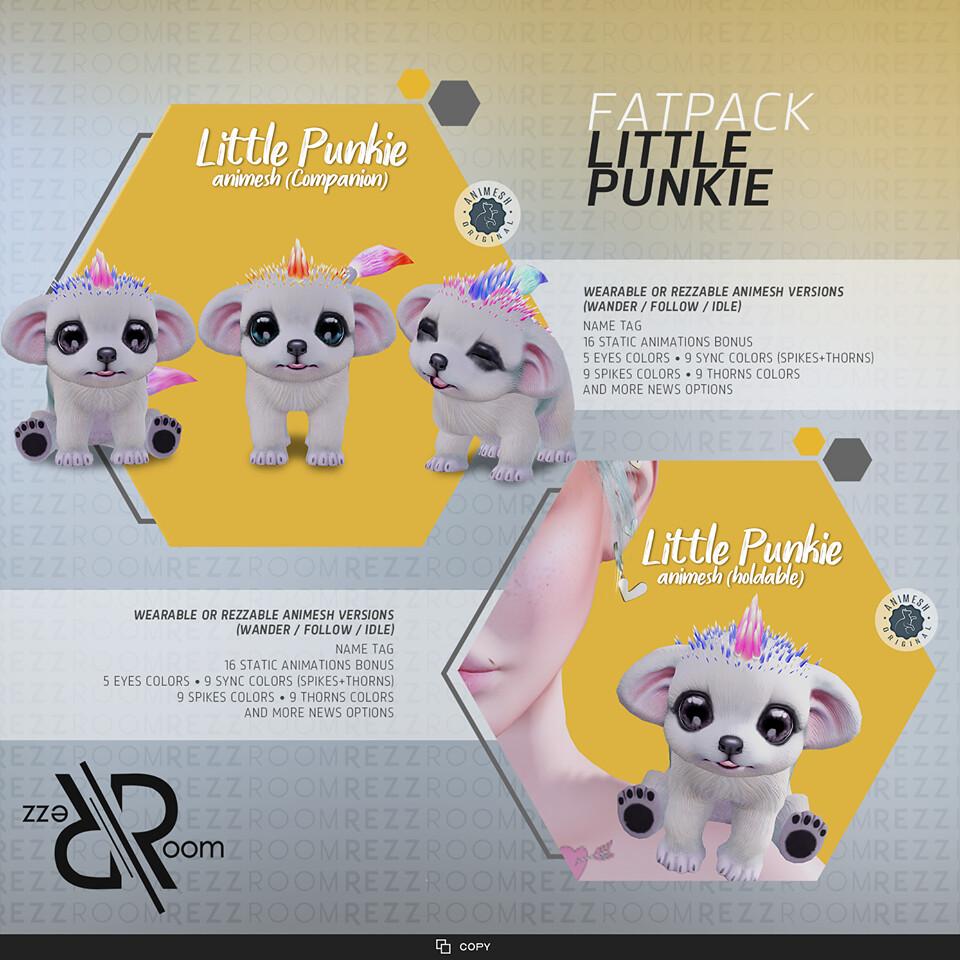 [Rezz Room]  Little Punkie Animesh (FATPACK)