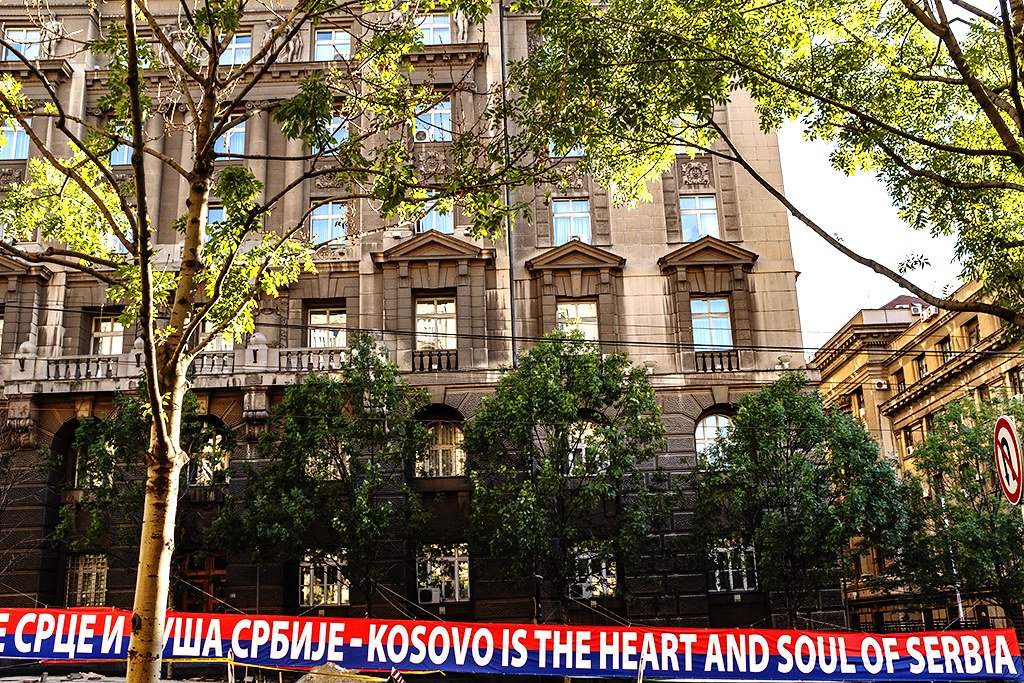 KOSOVO IS THE HEART AND SOUL OF SERBIA on 8-1-20--Belgrade