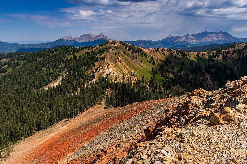 Calico Peak Summit View