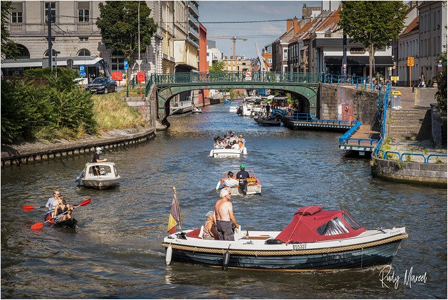 Greetings from A Semi-Locked Down Ghent  August 2020 - Corona crisis update from Ghent. It ain't over yet!