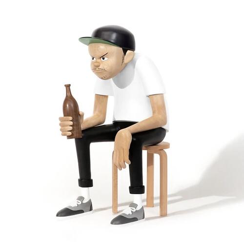 潦而不倒,絕處逢生!《MEET Yusuke Hanai PROJECT》by AllRightsReserved 攜手日本藝術家花井祐介 推出原木雕塑及木瓶作品《DOWN BUT NOT OUT》