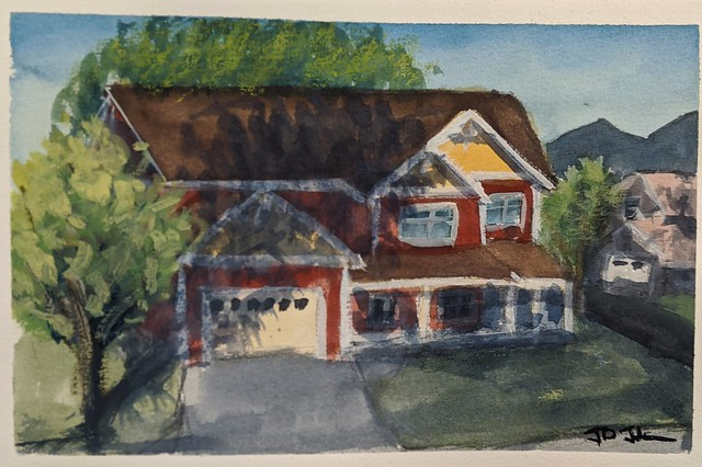 Another neighbor's house study