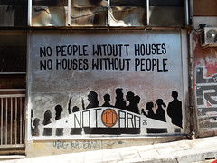 No people without houses, no houses without people