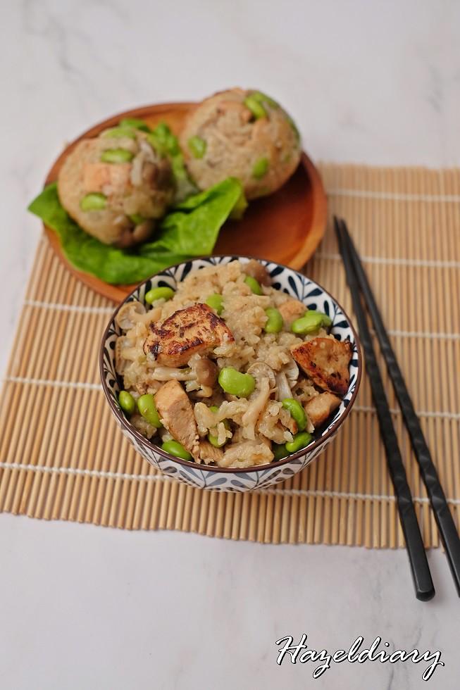 Wen's Whitebait Powder Cooking-Chicken Takikomi Gohan(Japanese Mixed Rice)