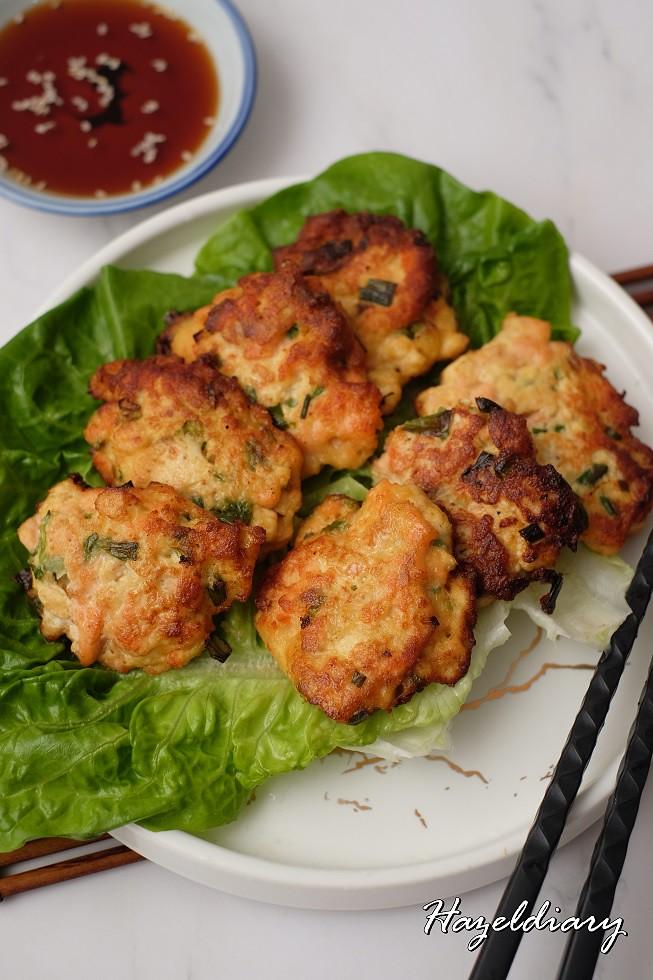 Wen's Whitebait Powder Cooking-Salmon Fritters