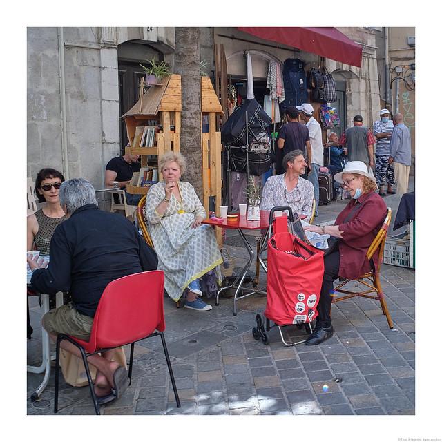 break at Café des Arts