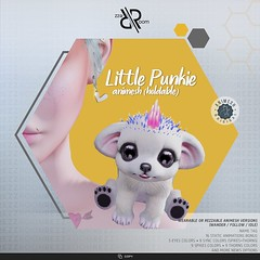[Rezz Room]  Little Punkie Animesh (Holdable and Rezzable)