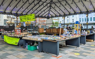 Book stall at Preston market | by Tony Worrall
