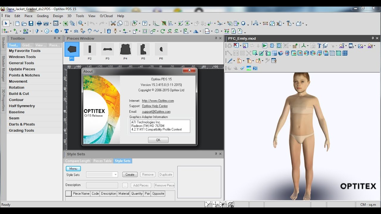 Working with Optitex 15.3.415 full