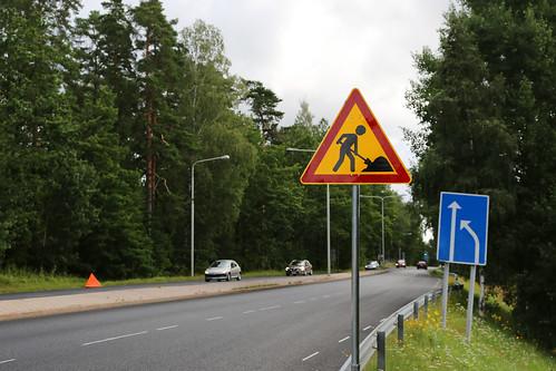 Tietyö Liikennemerkki