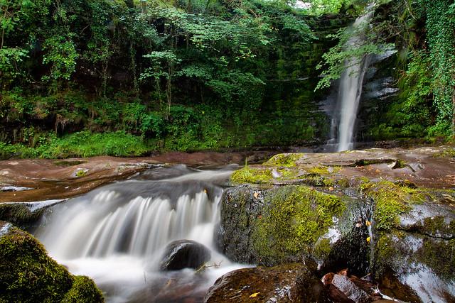 Caerfanell Waterfall