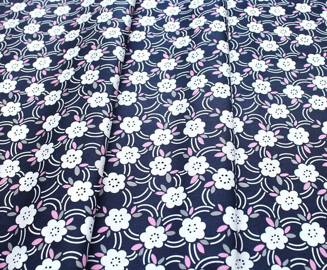 Felicity Fabrics Alpine Meadow in Bluebell 610032